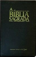 Bíblia ACF grande capa em couro legítimo