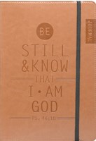 Bloco de notas - Be still and know I am God