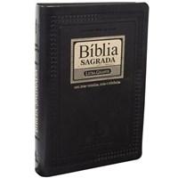 Bíblia Sagrada Letra Gigante com letras vermelhas, notas e referências