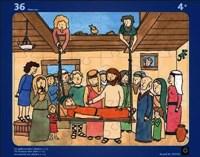 Puzzle 36 peças, Marcus 2:1-12