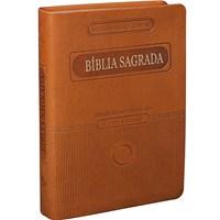Bíblia Sagrada em formato compacto e letra grande
