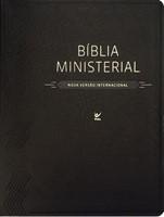 Bíblia Ministerial com capa preta