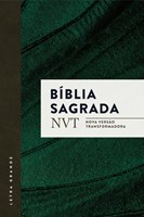 Bíblia NVT letra grande com capa brochura