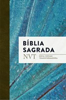 Bíblia NVT capa fléxível e beiras brancas