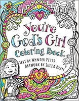 You're God's Girl Coloring Book