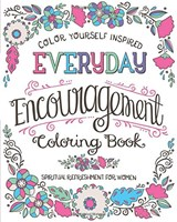 Everyday encouragement coloring book