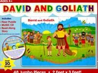 David e Golias, puzzle + 4 anos