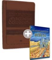 Bíblia de Estudo Perguntas & Respostas + Grandes eventos da Bíblia