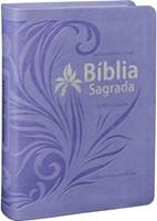 Bíblia em formato compacto com letra grande e índice digital