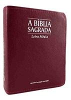 Bíblia Sagrada ACF letra média, formato pequeno