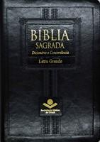 Bíblia Sagrada com letra grande, dicionário e concordância