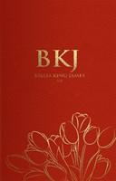 Bíblia King James Fiel 1611 capa vermelha
