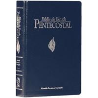 Bíblia de estudo pentecostal tamanho médio