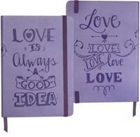 Bloco de notas Love is always a good idea