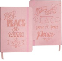 Bloco de notas May peace be with you