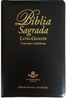 Bíblia Sagrada com letra gigante notas e referências