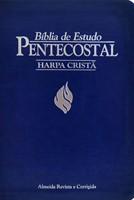 Bíblia de estudo Pentecostal com harpa cristã