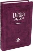 Bíblia Sagrada com letra gigante, com letra vermelhas, notas e referências