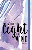 Bloco de notas You are the Light of the World