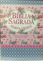 Biblia Sagrada tamanho grande com Harpa Cristã