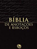 Bíblia de anotações e esboços