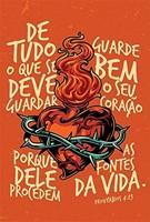 Bíblia NAA Coração em chamas