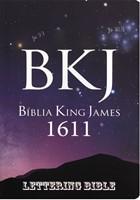 Bíblia King James 1611 Ultra Fina Lettering Bible