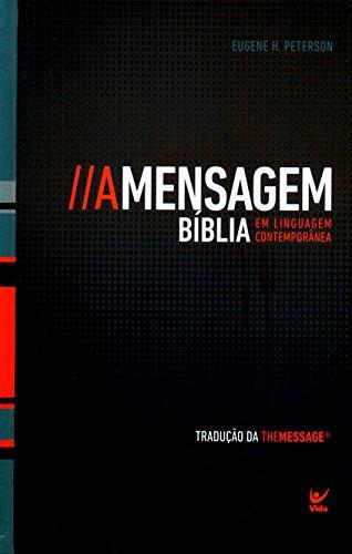 Bíblia A Mensagem - capa dura