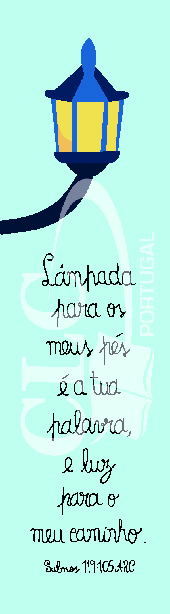 Marcador Salmos 119:105