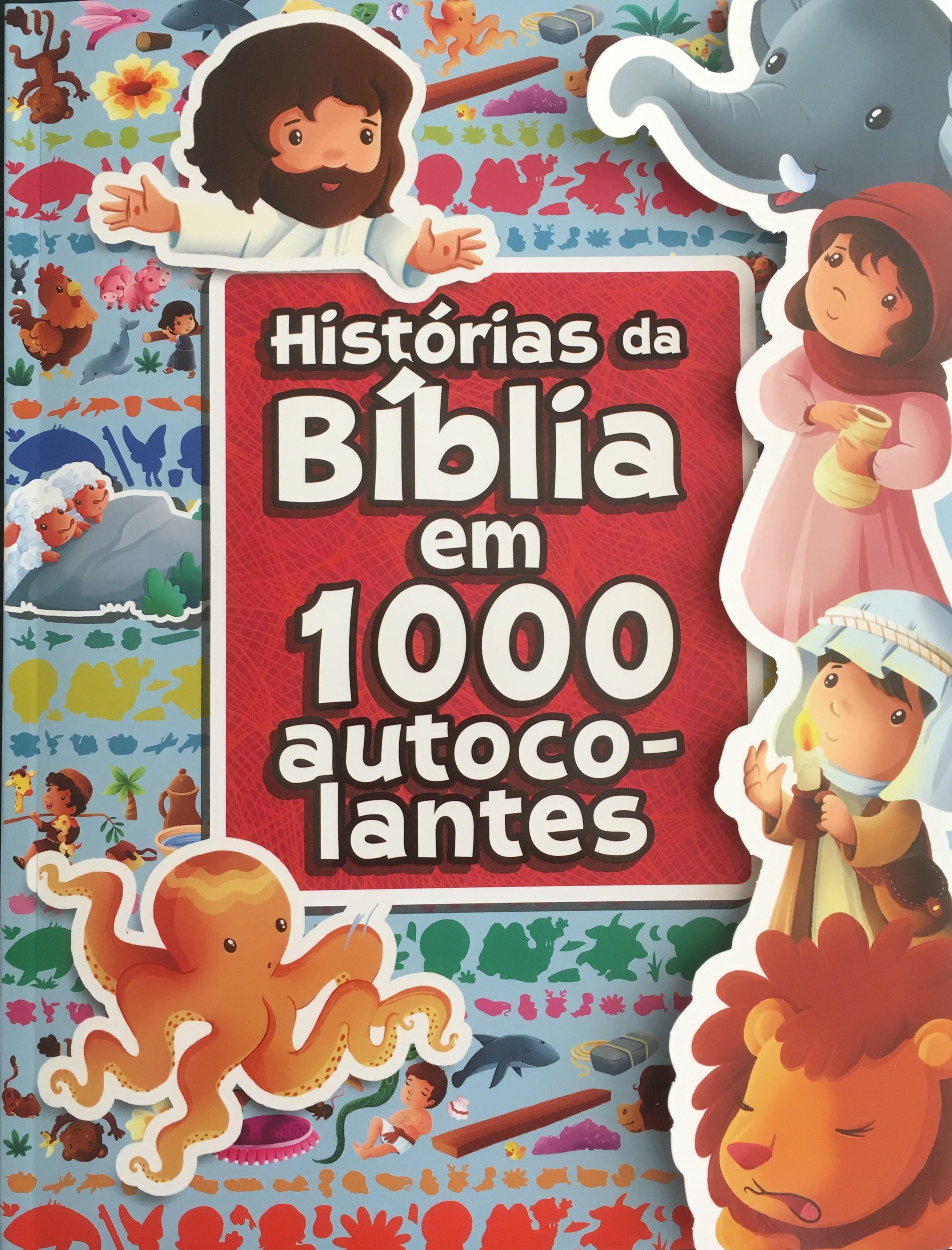 Histórias da Bíblia em 1000 autocolantes