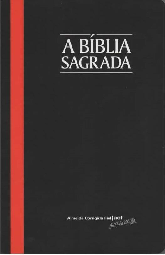 Bíblia Sagrada ACF letra média edição fina