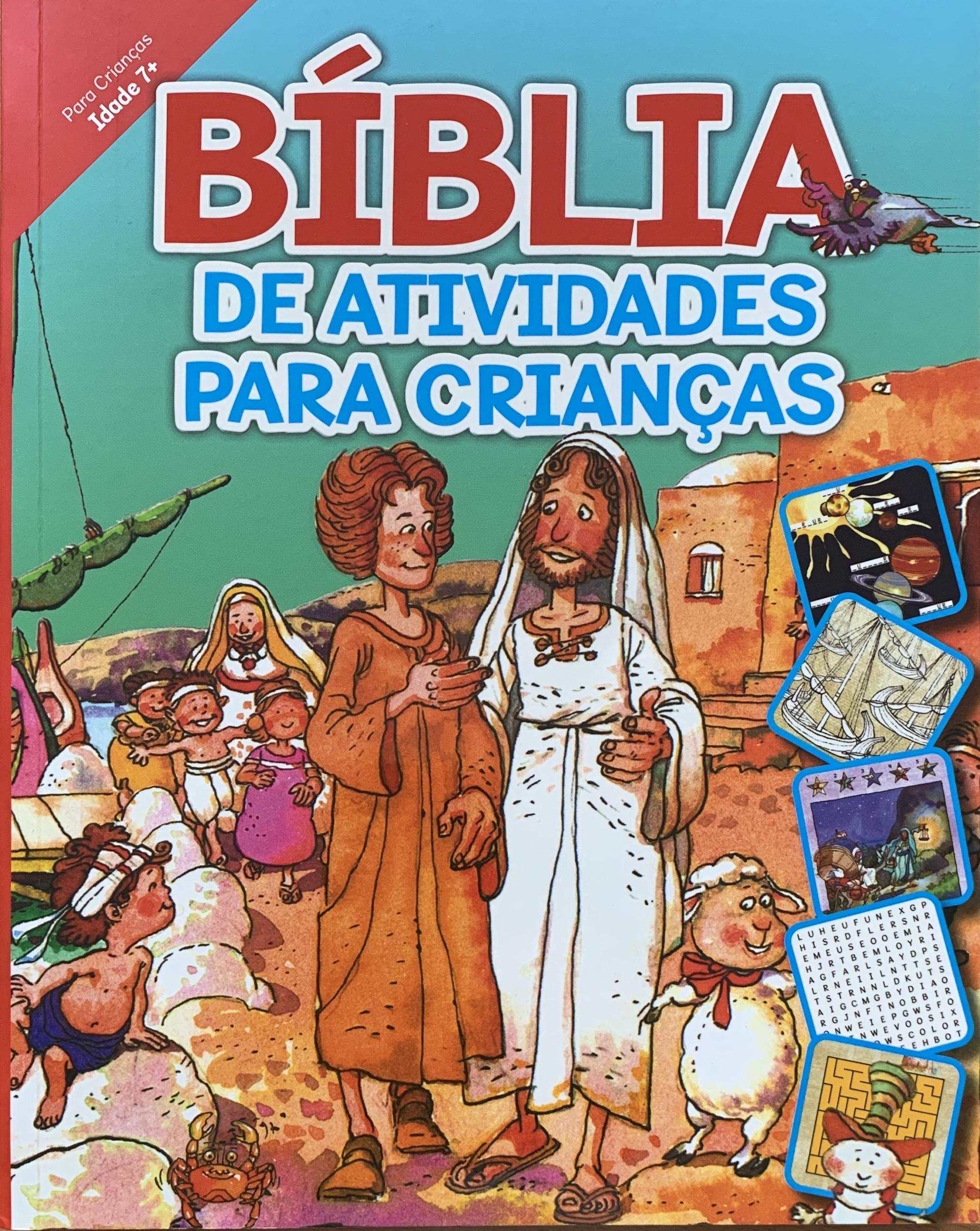 Bíblia de atividades para crianças